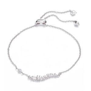 NWT Kendra Scott marianne bracelet silver B257
